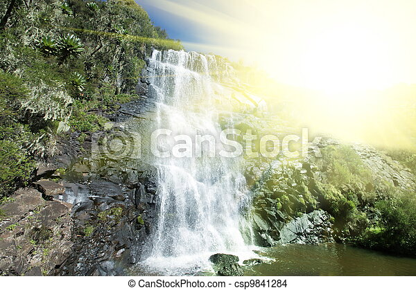 Cachoeira - csp9841284