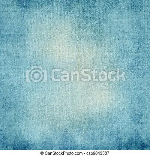 Textured blue background  - csp9843587