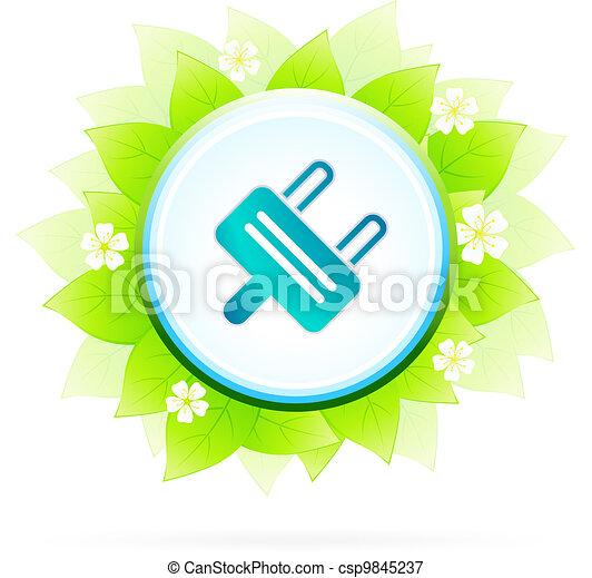 Renewable energy concept - csp9845237
