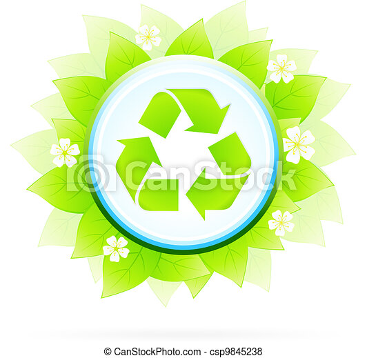 Recycling Symbol - csp9845238