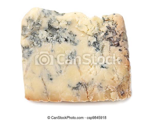 Blue Stilton Cheese - csp9845918