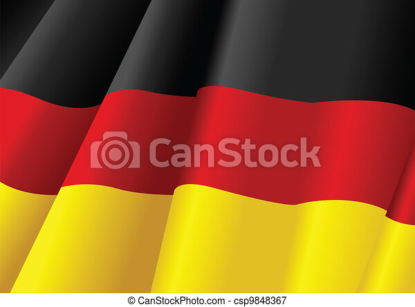 The Flag of Germany - csp9848367
