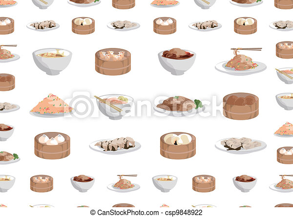 Chinese Dumpling Drawing Vector Chinese Foods