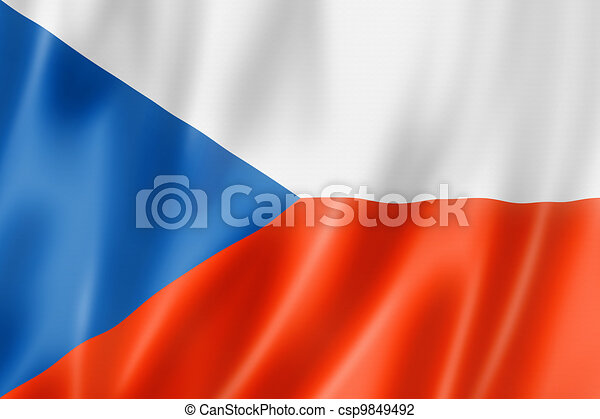 Czech flag - csp9849492