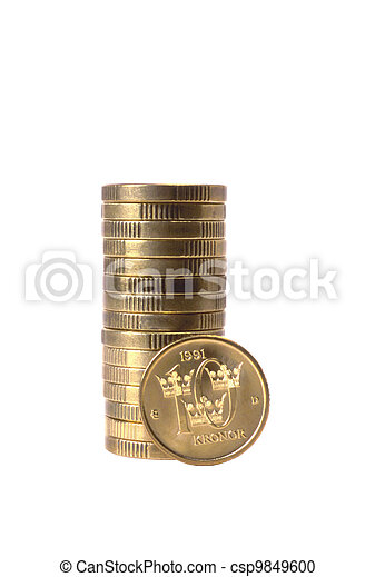 Swedish Coins - csp9849600