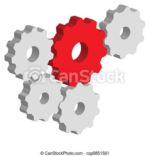 Gears - csp9851561