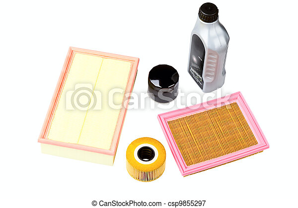 Automobile oil, air  and oil filters - csp9855297