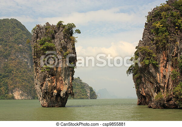 James Bond island - csp9855881