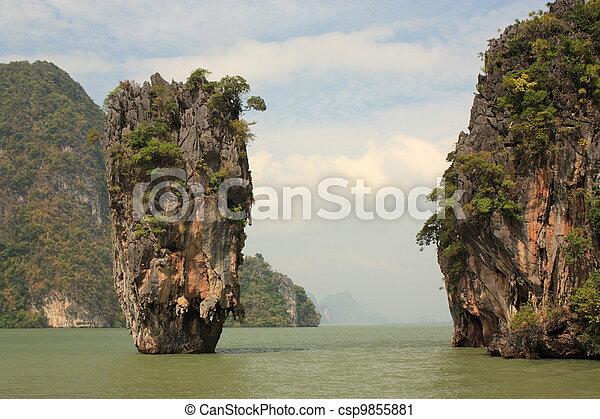 James Bond island - csp9855881