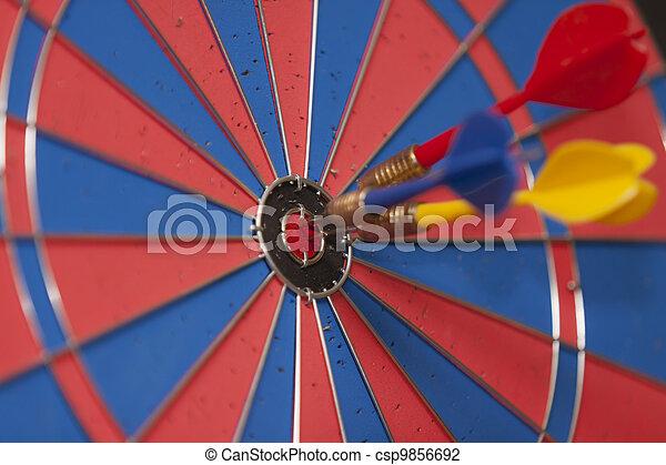 Dart Board - csp9856692