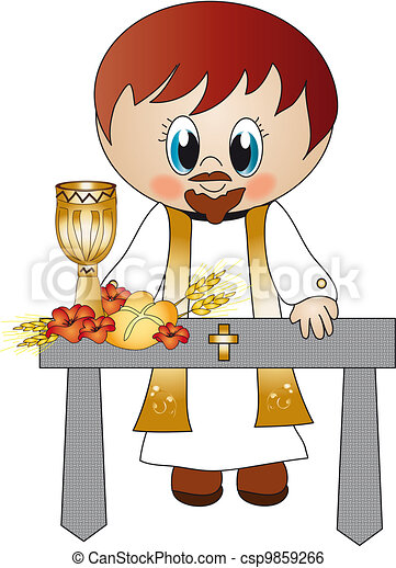 Resultado de imagen para sacerdote con estola dibujo