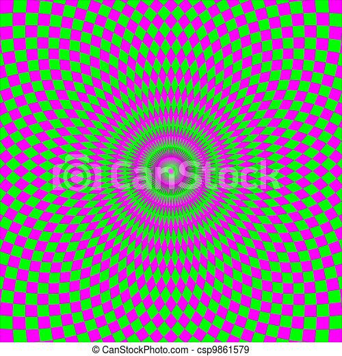 Optical Illusion - csp9861579