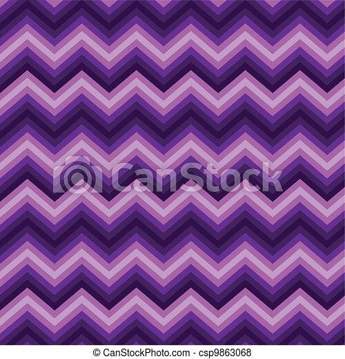 Pattern Retro Zig Zag Chevron - csp9863068