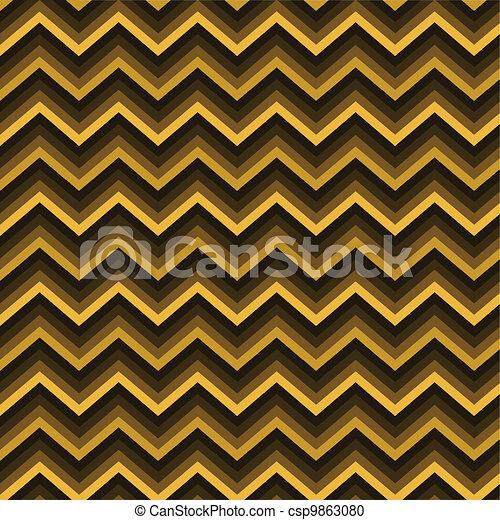 Pattern Retro Zig Zag Chevron - csp9863080