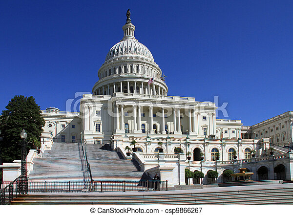 Capitol building and Dome - csp9866267