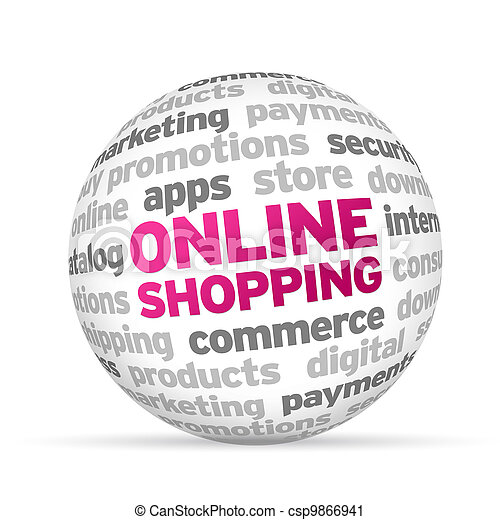 Stock Photo - Online Shopping - stock image, images, royalty free
