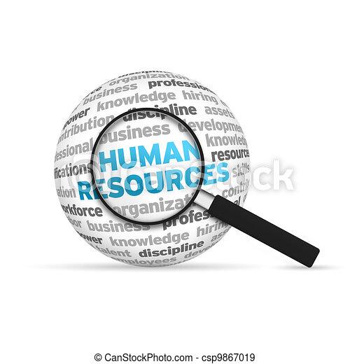 Human Resources - csp9867019