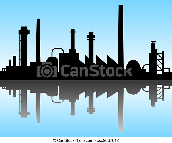 Industrial background - csp9867612
