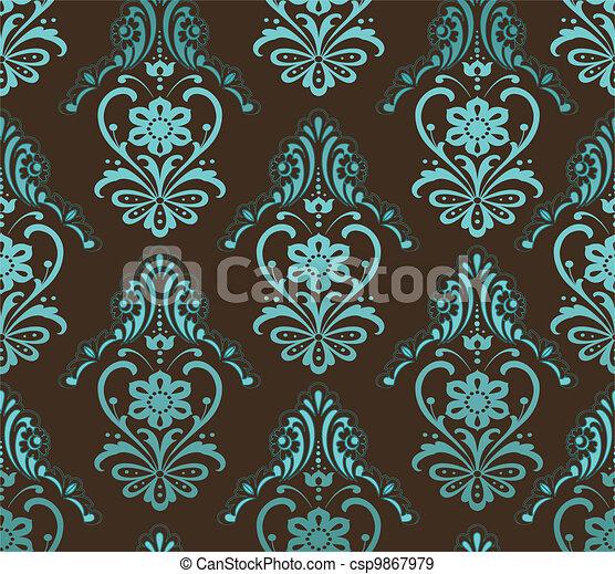 retro wallpaper - csp9867979