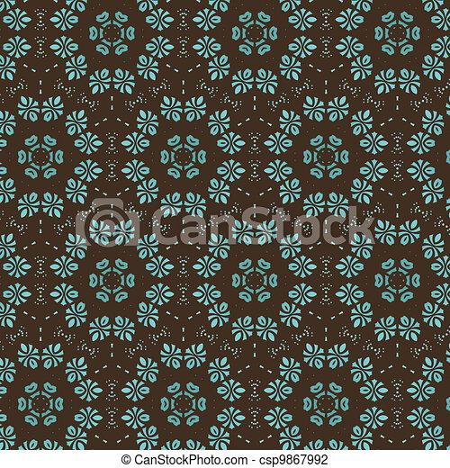 retro wallpaper - csp9867992