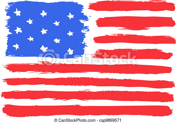 American flag - csp9869571
