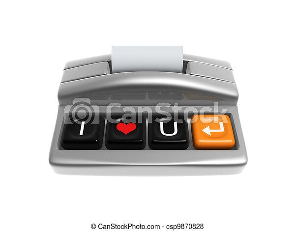 cash register - csp9870828