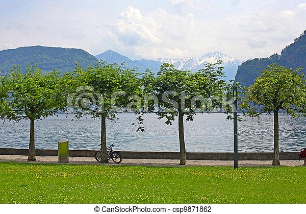 Stock de fotos como paisaje redondo rboles jard n for Jardines pequenos redondos