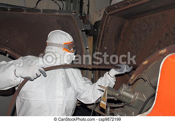 Industrial Steam Boiler Clean