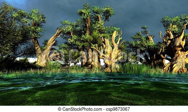 Wetland - csp9873067