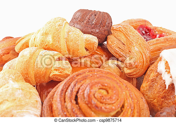 Bakery foodstuffs assortment  - csp9875714