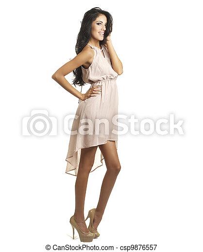 Beautiful tall woman - csp9876557