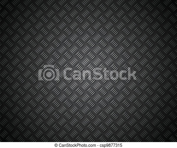 metal pattern texture grid carbon material - csp9877315