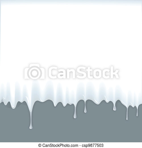 Milky liquid background - csp9877503