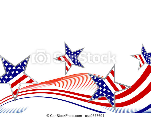 4th july independence day - csp9877691