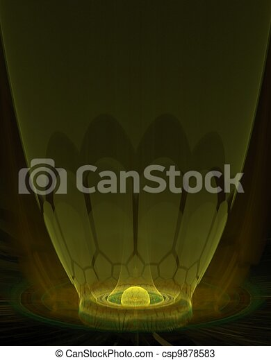 The Reactor Abstract Fractal Design - csp9878583