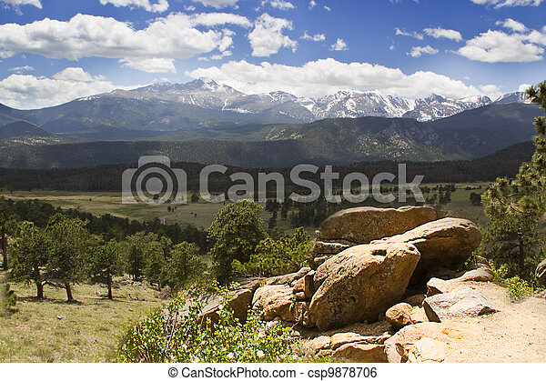 Rocky Mountain National Park - csp9878706