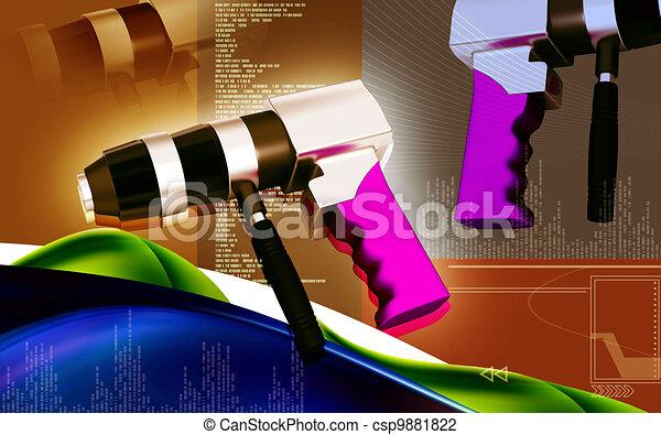 Reversable air drill - csp9881822