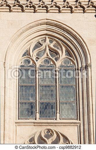 Cathedral of Burgos, Castilla y Leon, Spain - csp9882912