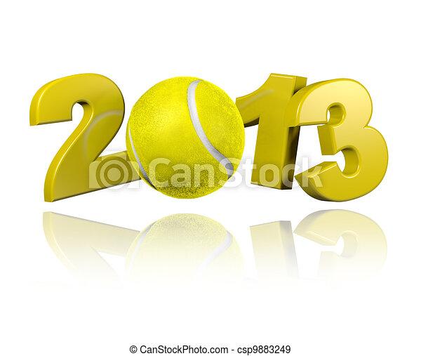 Tennis 2013 design - csp9883249
