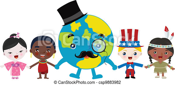 Multicultural Children Clipart Multicultural Children And