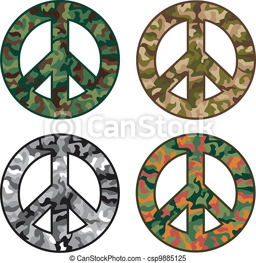 Peace Camos - csp9885125