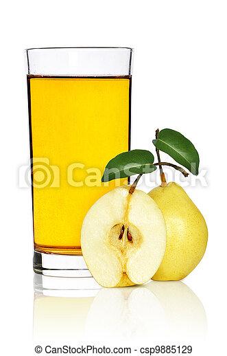 Pear juice - csp9885129