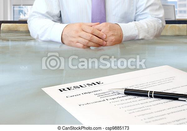 Job Interview - csp9885173