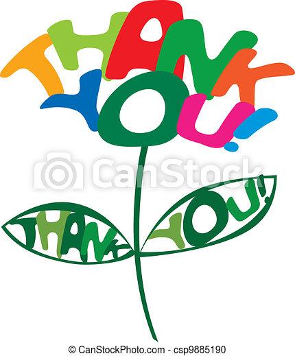 Thank You card  - csp9885190