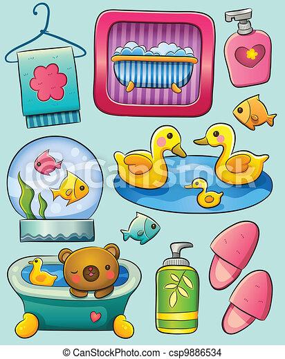 Toiletry - csp9886534