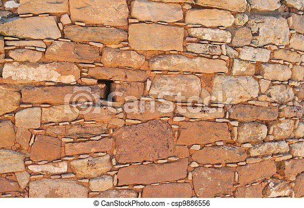 Primitive sandstone wall %u2013 texture - csp9886556