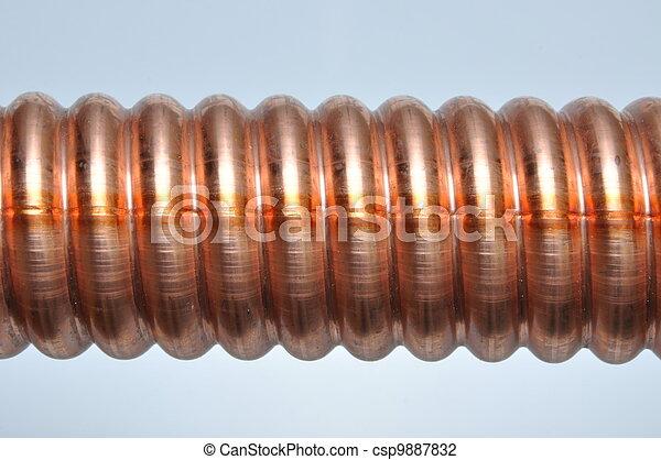 Archivi fotografici di rame tubo corrugato rame for Tubo di rame a pex