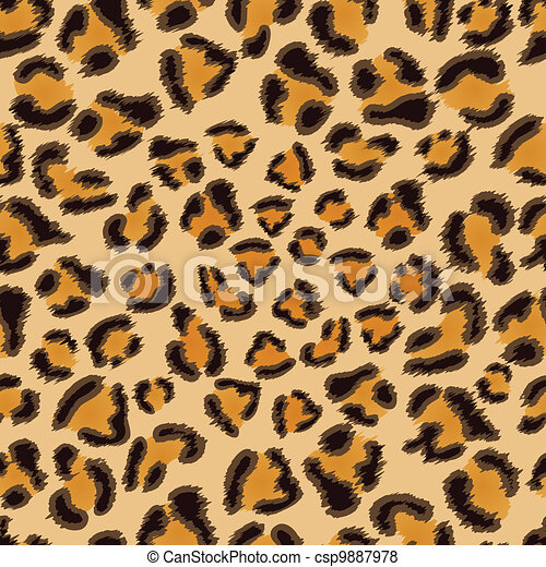 vector of leopard seamless pattern leopard seamless Cheetah Print Stencil Cheetah Print Vinyl
