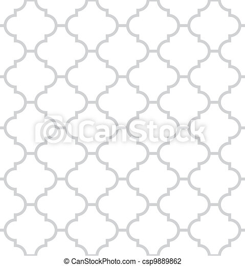 Simple geometric vector seamless texture - csp9889862