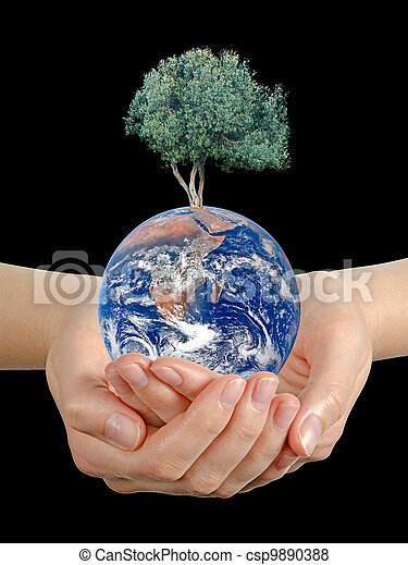 Gift of Earth.Elements of this image furnished by NASA - csp9890388